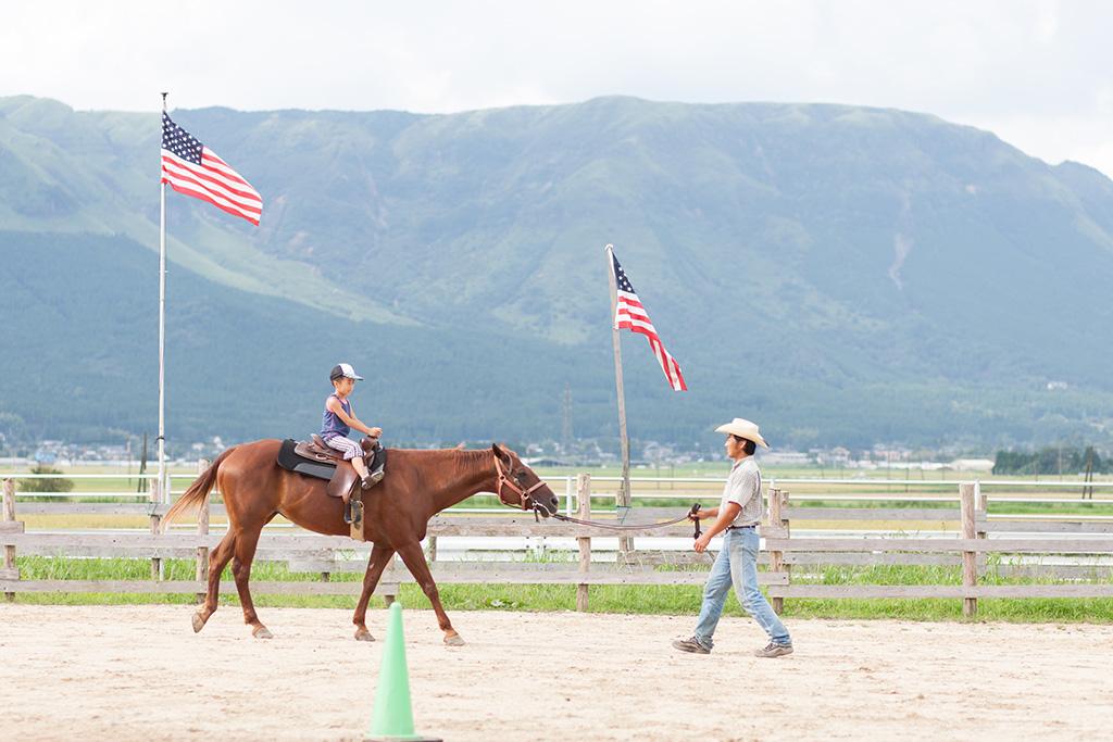 ひき馬体験・画像